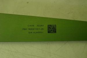 Aerospace Parts Marking – BAC 5307 Inkjet Mark #44