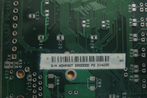 Inkjet Bar Code on PCB #49