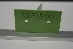 Aerospace Tee Part Marking with Inkjet #50