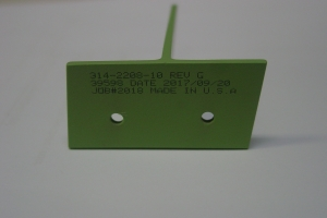Aerospace Tee Part Marking with Inkjet #51