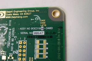 PO#PCB Serial Number Marking – Inkjet on PCB #14