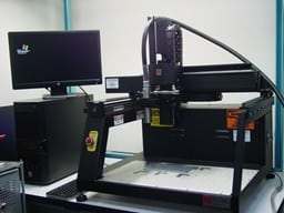 Product Marking (UID) System – 3 Axes Precision Inkjet System on JETEC Corporation